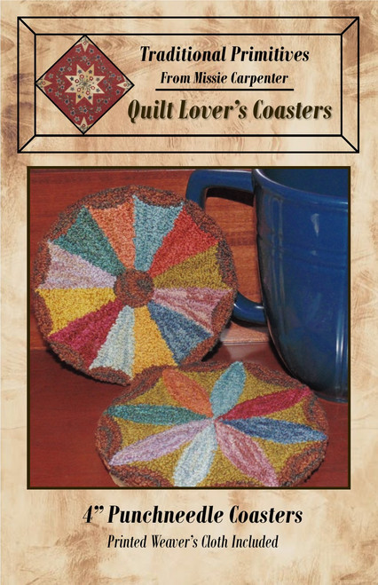 Quilt Lovers Coaster Pattern