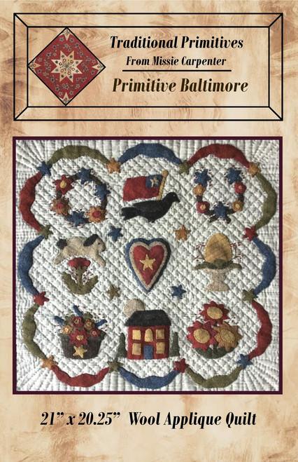Primitive Baltimore Wool Applique