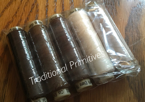 Ellana Wool Thread Sampler Packs