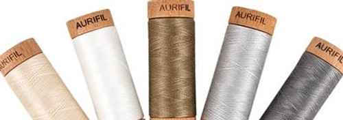 Aurifil Thread , 80 Weight Cotton