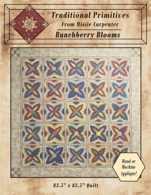 Bunchberry Blooms