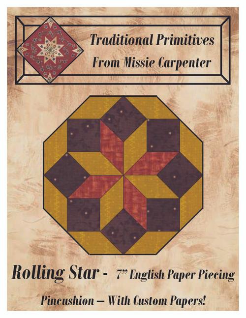 English Paper Pieced Pincushions