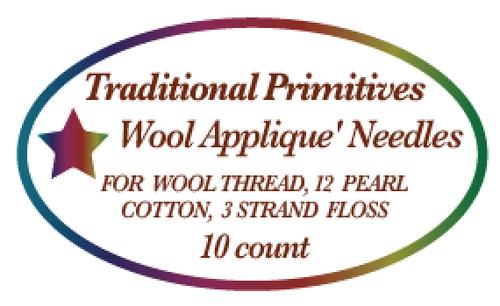 Wool Appliqué Needles