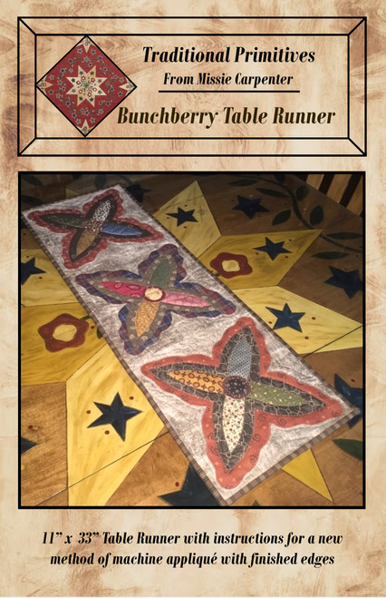 Bunchberry Blooms Table Runner