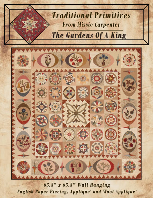 Gardens Of A King Pattern Download