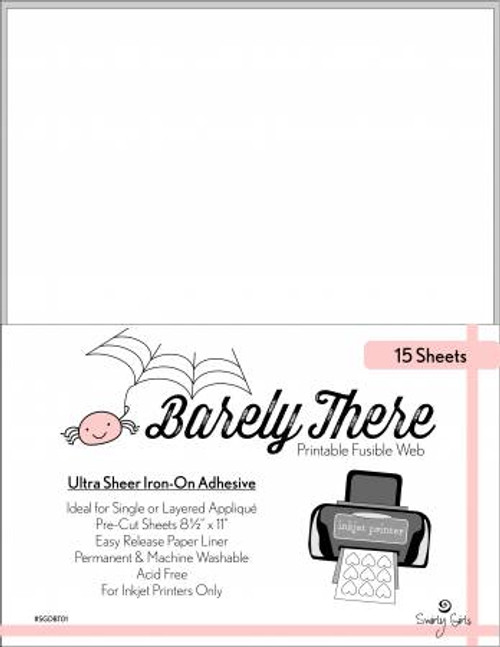 Barely There Fusible Adhesive