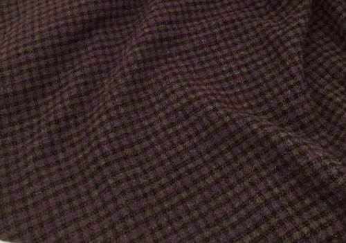 Purple Rain Woolen Fabric