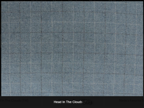 Head In The Clouds Woolen Fabric