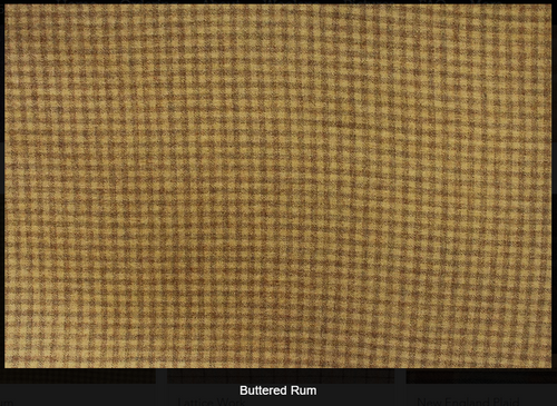 Buttered Rum Woolen Fabric