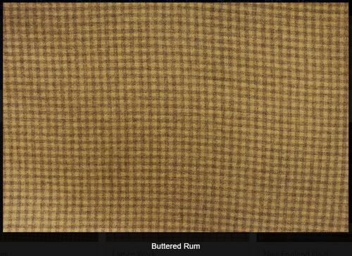 Buttered Rum Woolen Fabric