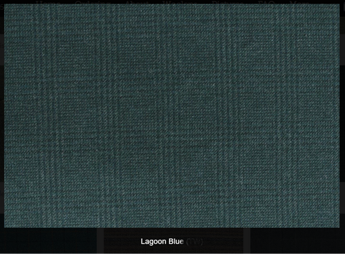 Lagoon Blue Green Woolen Fabric