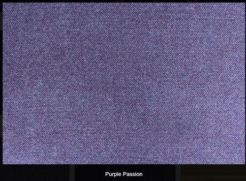 Purple Passion Woolen Fabric