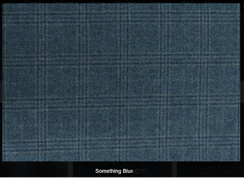Something Blue Woolen Fabric