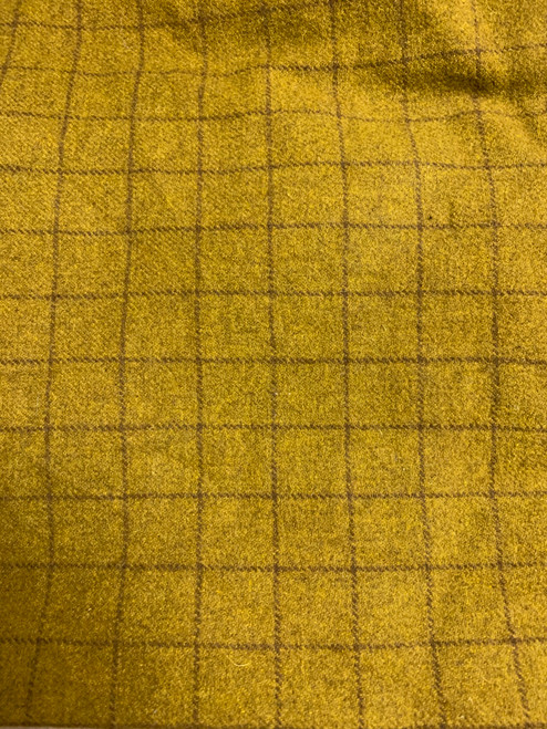Mustard Woolen Fabric