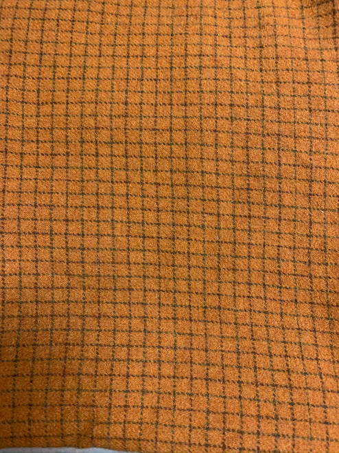 Carrot Top Woolen Fabric
