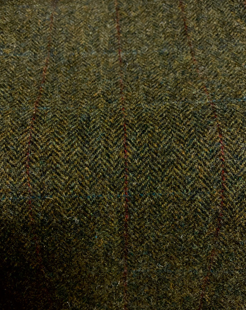 Deep Forest Green Woolen Fabric