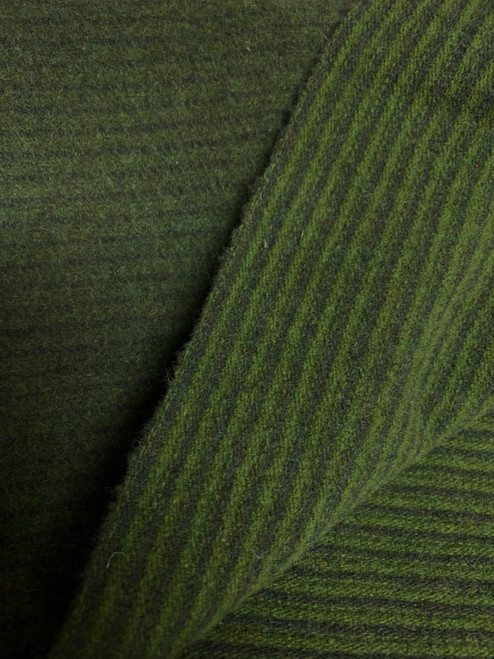 Green Grass Reversable Woolen Fabric