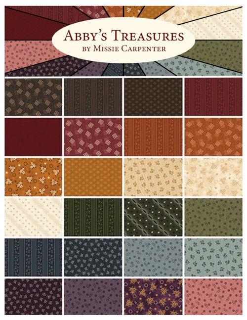 Abby's Treasures Fabric Collection