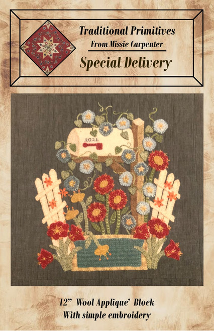 Special Delivery- A Potted Petals Downloadable Pattern