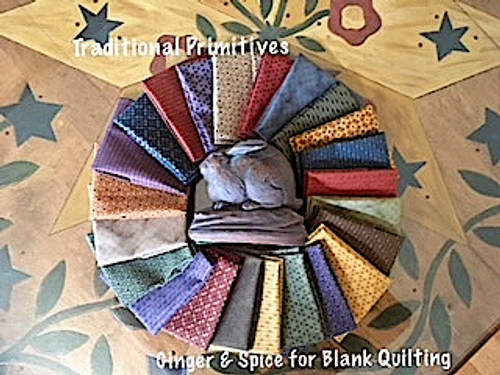Ginger & Spice Fabric Collection