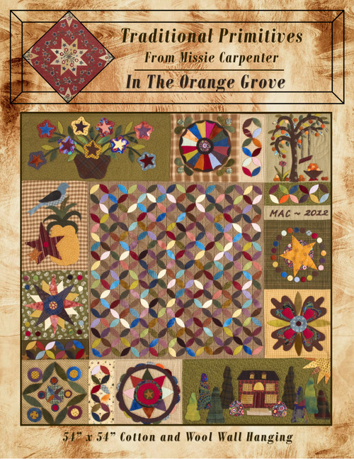 In The Orange Grove  Quilt Pattern