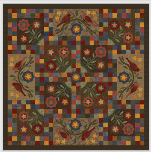 Ginger & Spice Quilt Fabric Kit