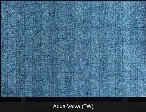 Aqua Velva Woolen Fabric
