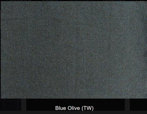 Blue Olive Woolen Fabric