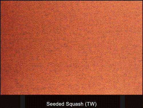 Seeded Squash Woolen Fabric