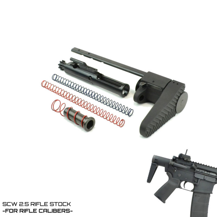 SCW 2.5 STOCK - FOR RIFLE CALIBER AR-15