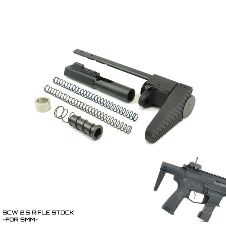 SCW 2.5 STOCK- FOR 9MM AR-15