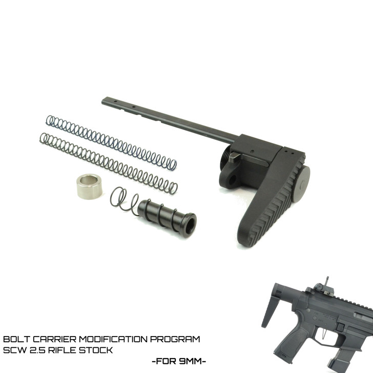 BCM- SCW 2.5 Rifle Stock- For 9mm AR-15