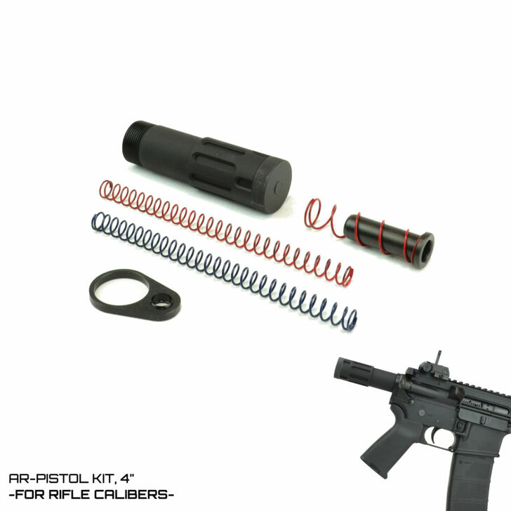 "DFA Modified Cycle System -RIFLE CALIBER- AR-Pistol Kit 4"""