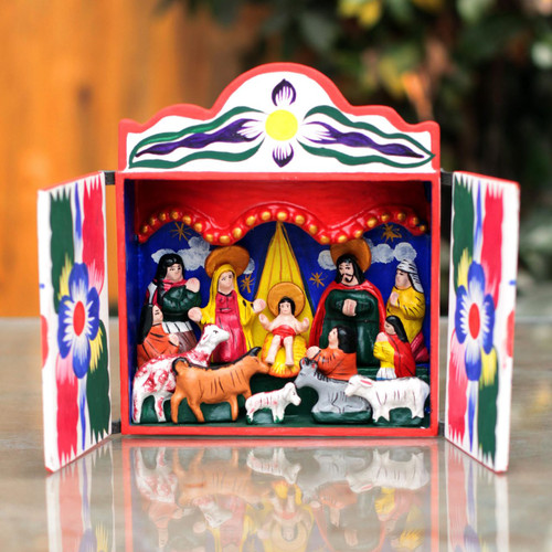 Nativity scene 'Great Day'