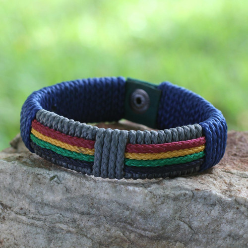 Men's Wristband Bracelet 'Traditions of Africa'