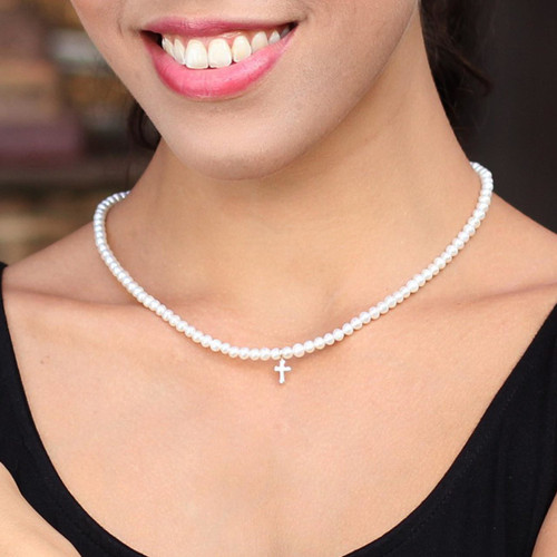 Pearl Strand Necklace 'Spirit of Faith'