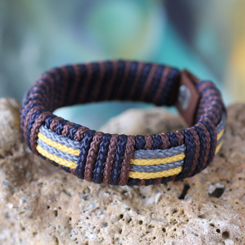 Men's wristband bracelet 'Song of Africa'