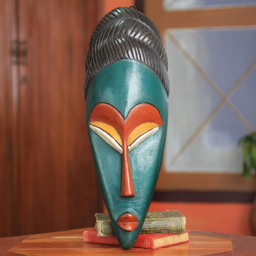 Handcrafted African Knowledge Mask 'Nimdie'