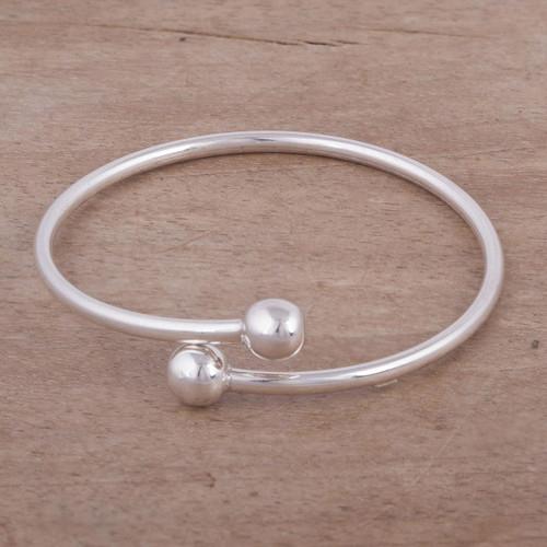 Silver 950 Modern Wrap Bracelet 'Irresistible'