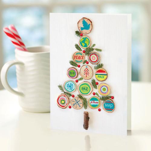 UNICEF Cards (Set of 12) 'Eco Tree'