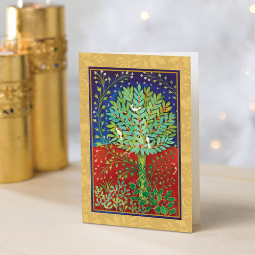 UNICEF Cards (Set of 20) 'Holly Tree'
