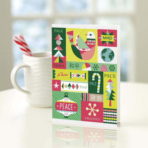 UNICEF Holiday Cards Boxed Set of 12 'A Season in Symbols'