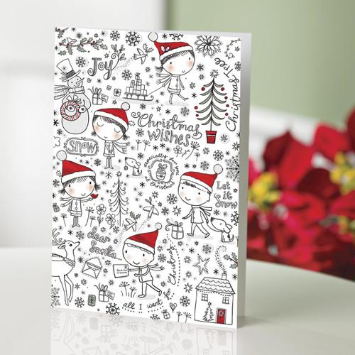 UNICEF Holiday Cards Boxed Set of 12 'Dear Santa'