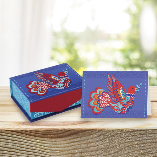 UNICEF Keepsake Box with 18 Everyday Notecards 'Peace Will Prevail'
