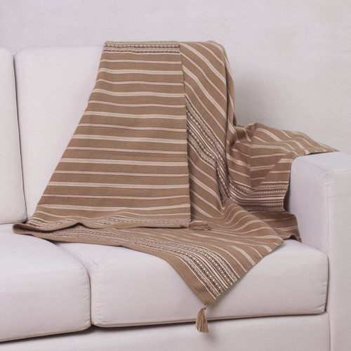 Alpaca blend throw 'Inca Land'