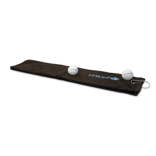 UNICEF Golf Towel 'Tee Time'