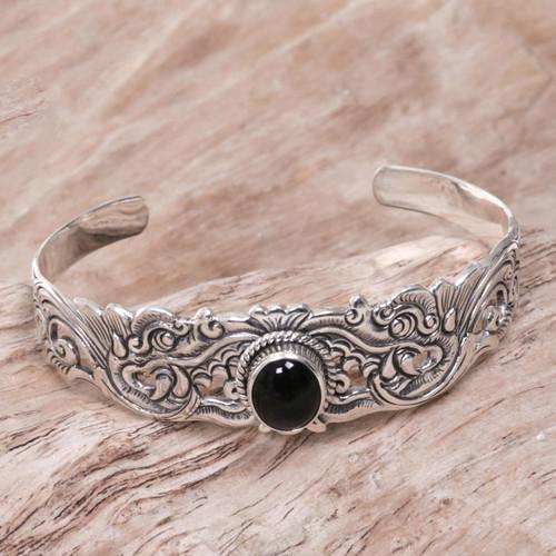 Onyx bracelet 'Eagle Eye'
