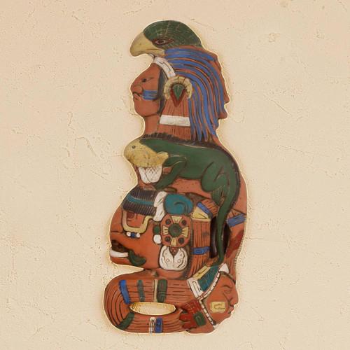 Ceramic mask 'Maya Lord of the Sky'