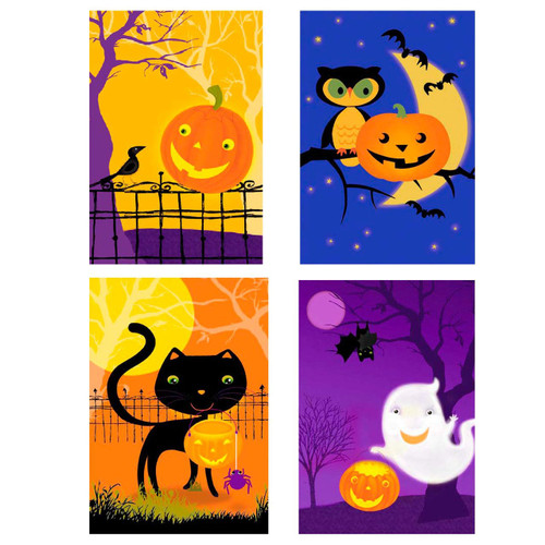 Set of 12 Halloween Greeting Cards from UNICEF 'Happy Spooks'