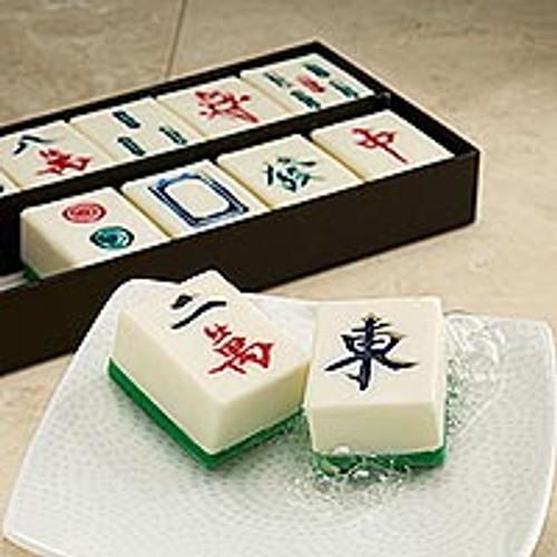 Mah-jongg Guest Soaps - Set of 12 'Mah-Jongg'